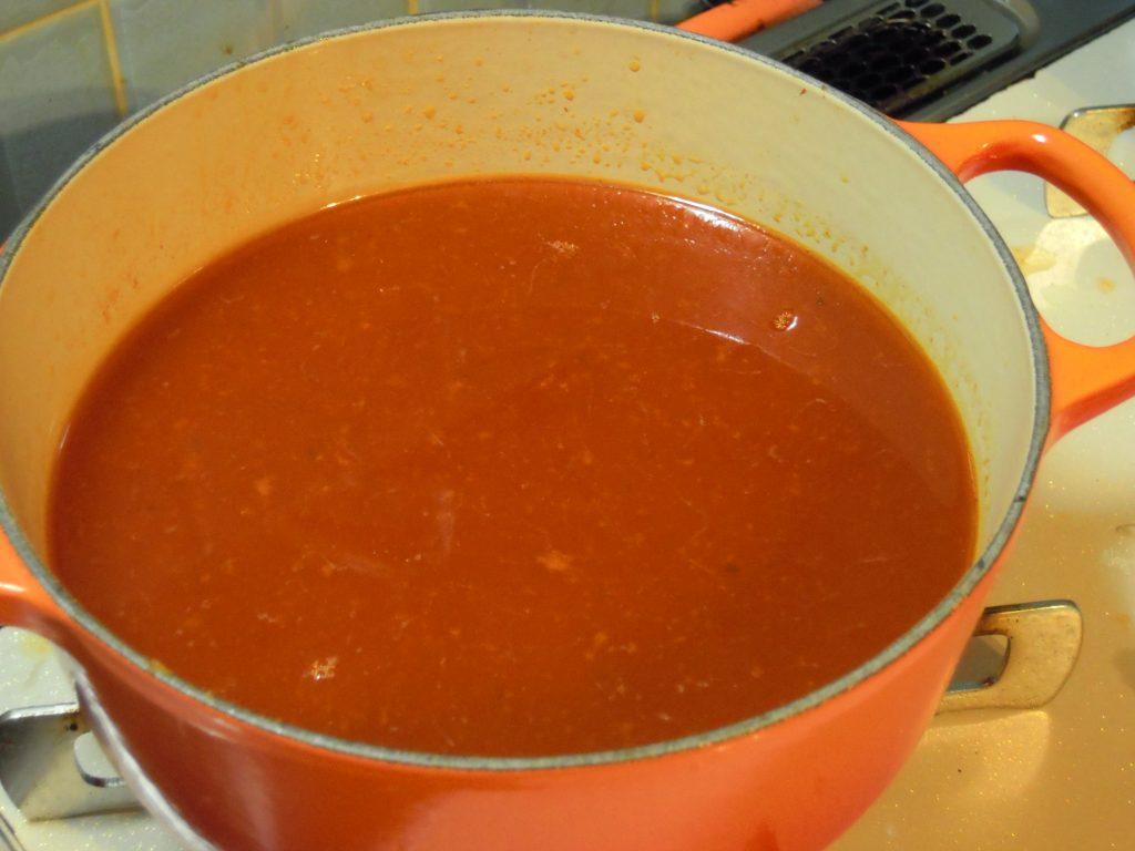 ブイヤベースのスープ