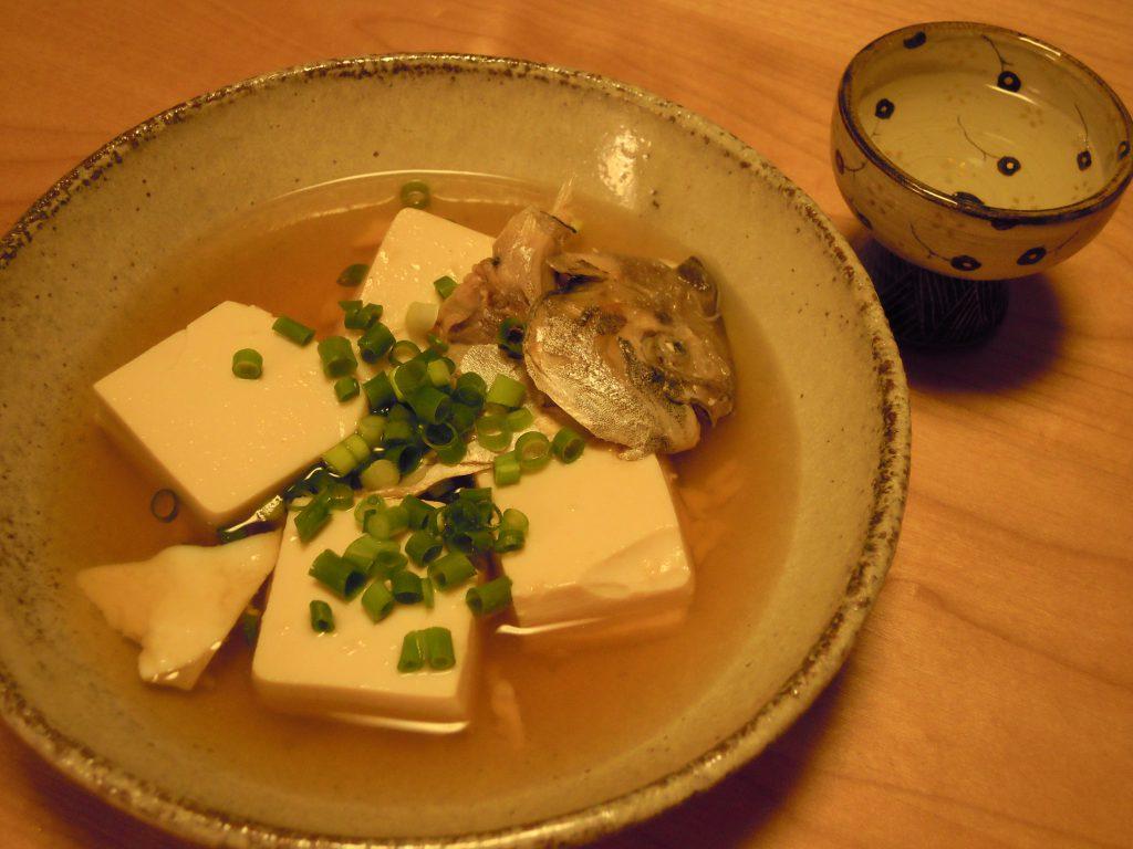 マナガツオのうつし豆腐完成