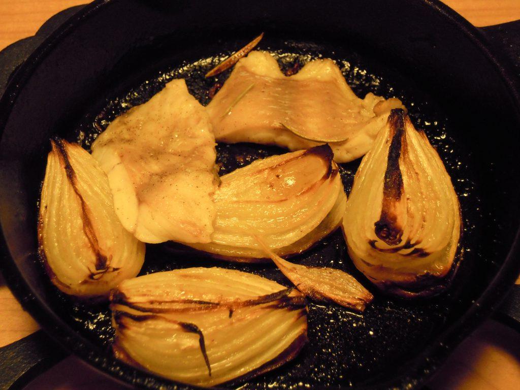 ヒゲソリダイのレモン風味オーブン焼き完成