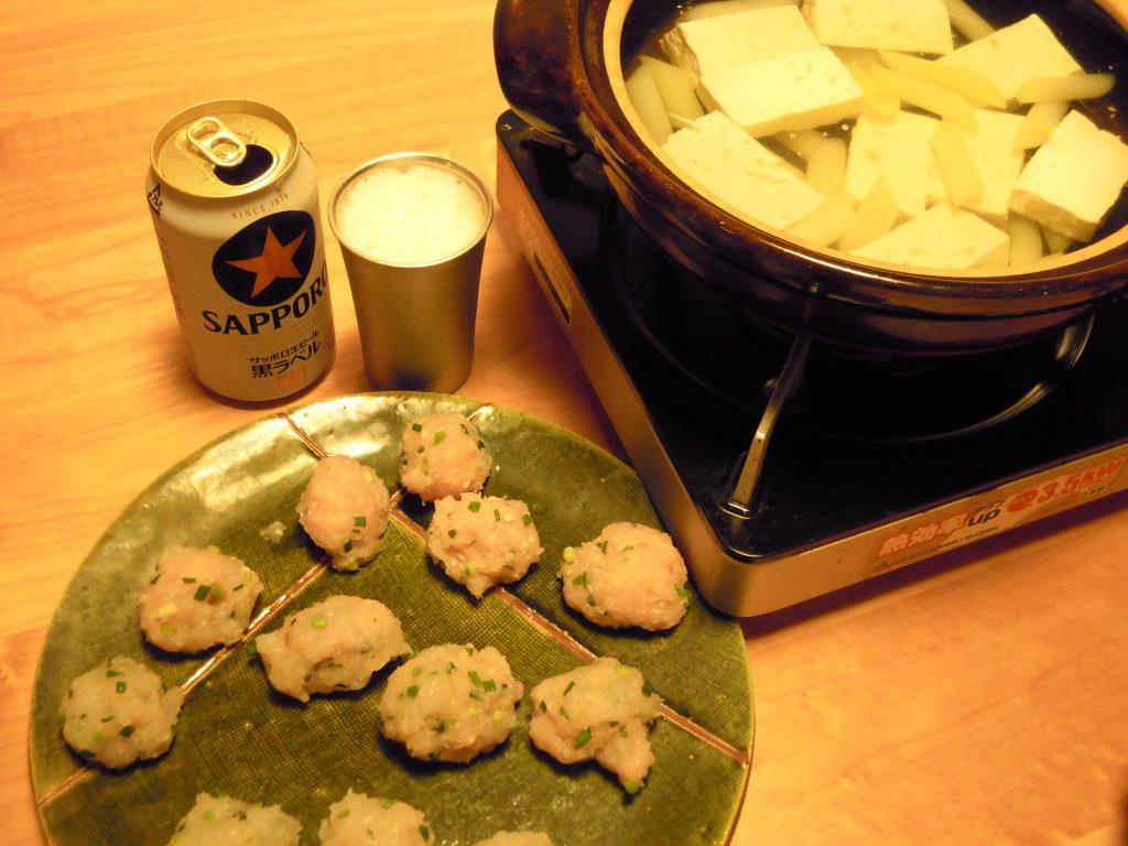 ハモ団子鍋