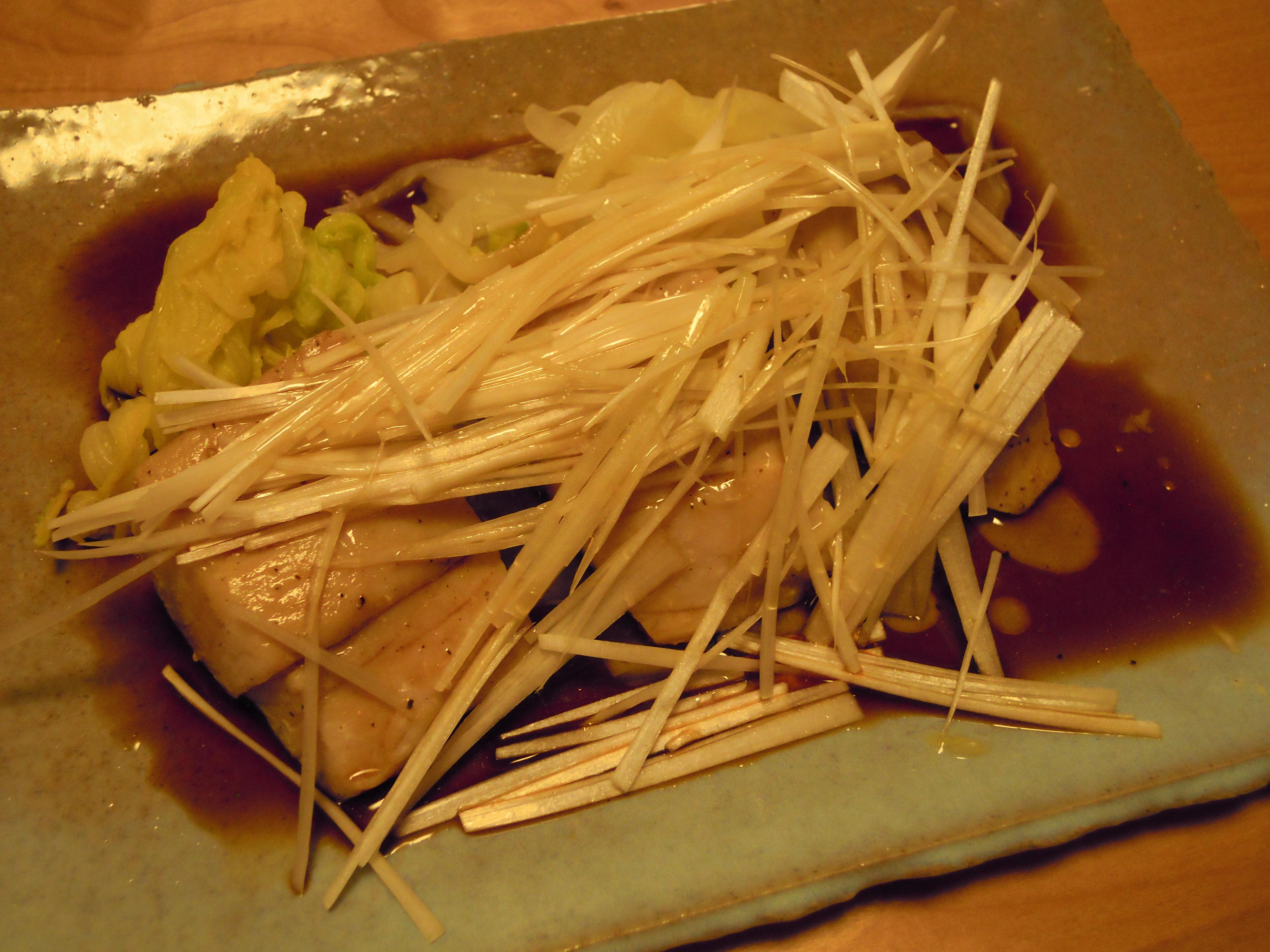 ブリの白菜包み蒸し完成