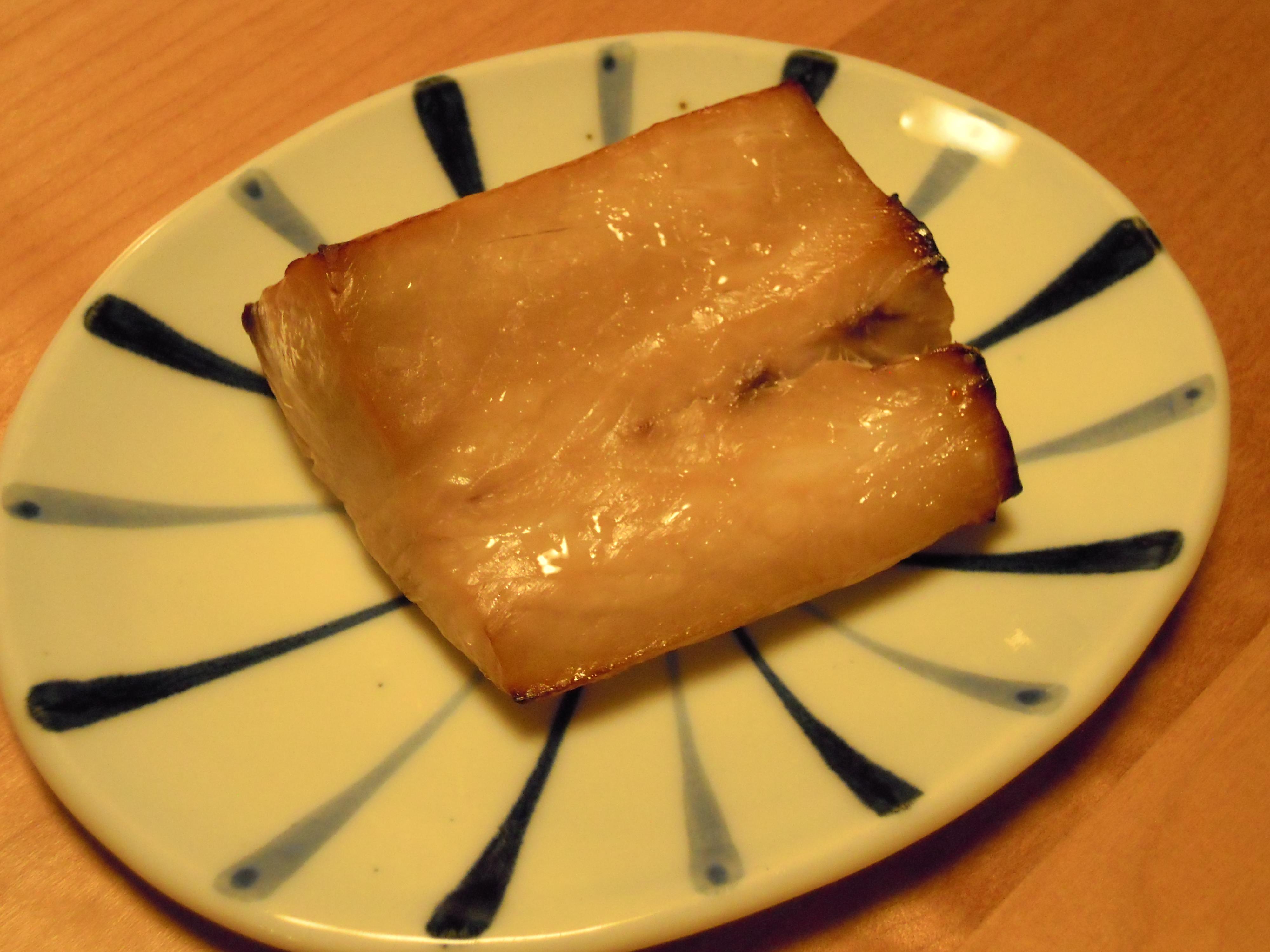 ブリの西京焼き(比較)