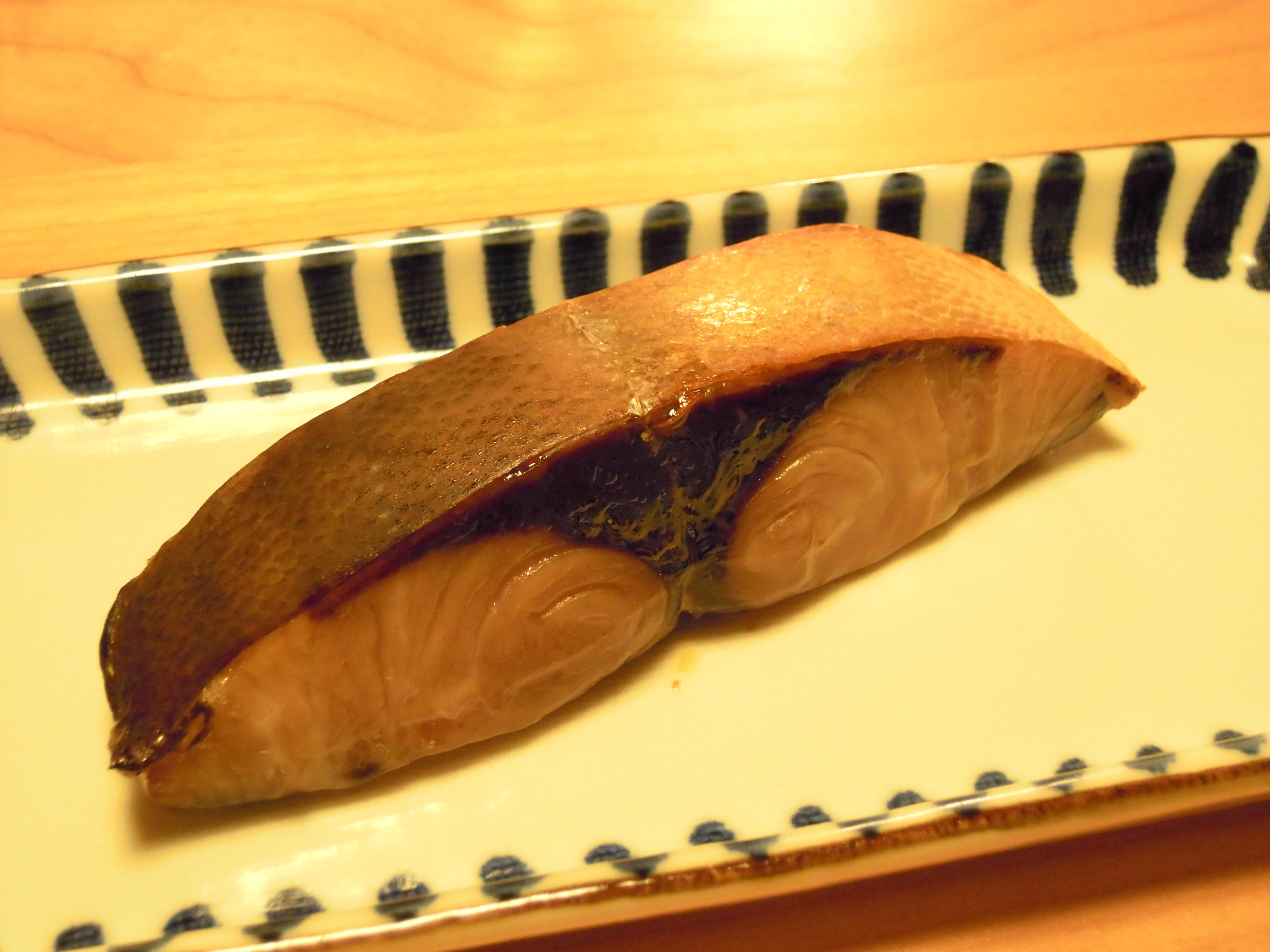 ブリの西京焼き
